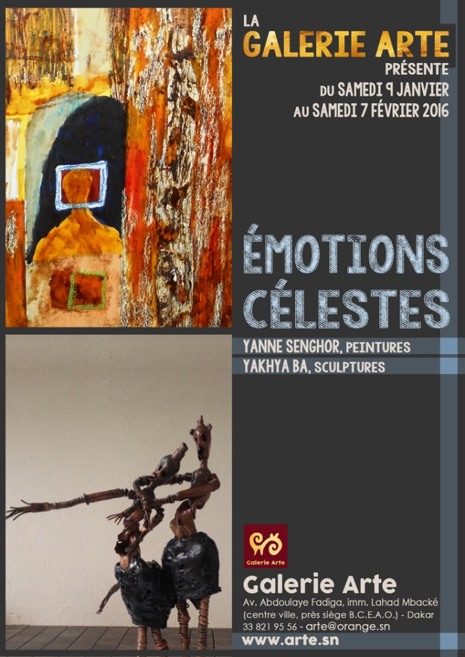 flyer émotions célestes