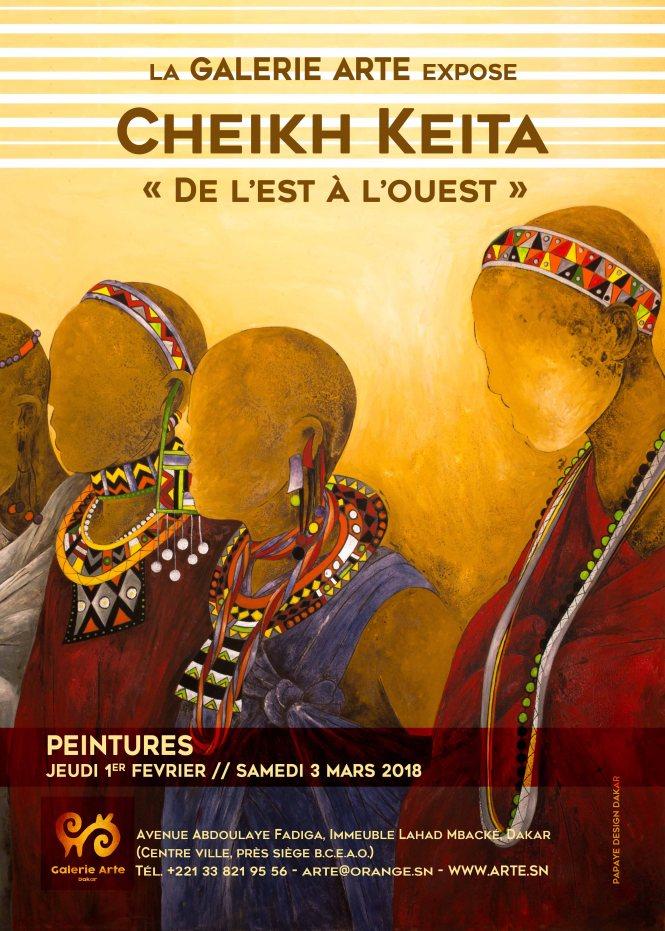 affiche Cheikh Keita Février 18