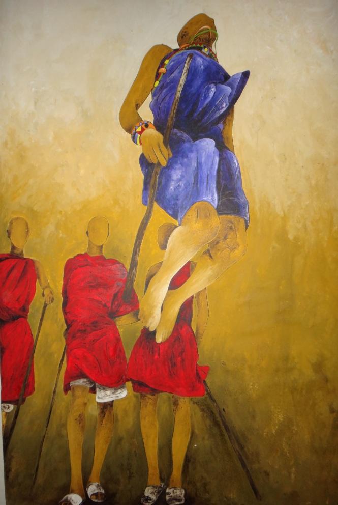 Danse Massai 174X100