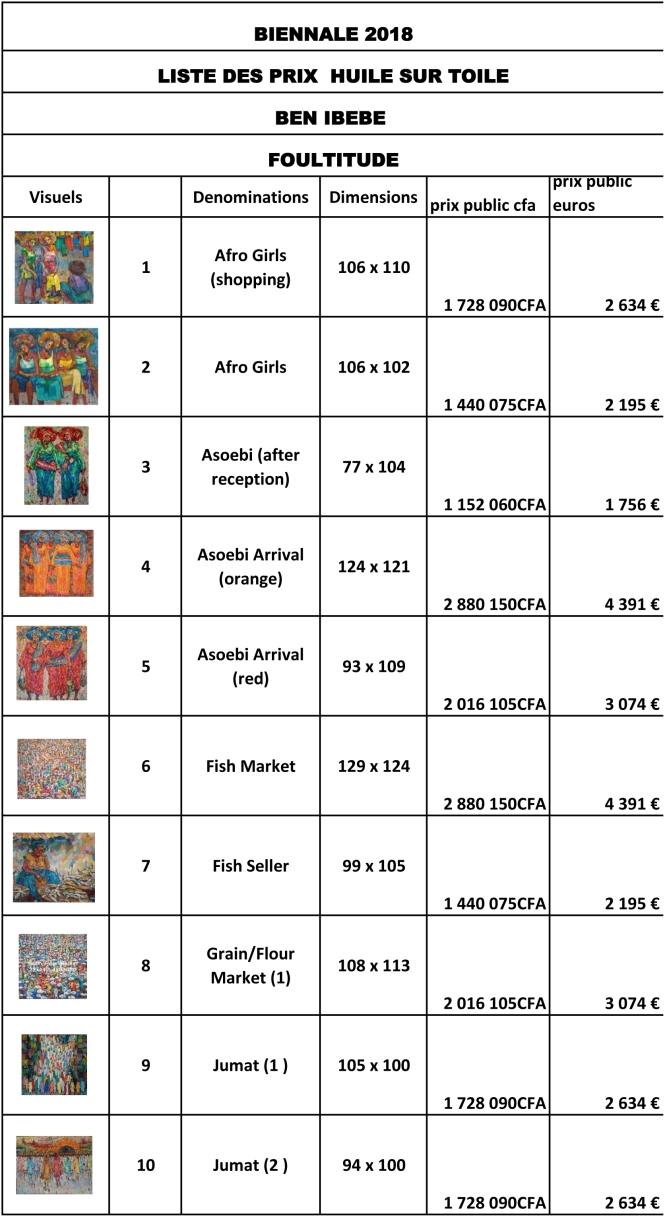 prix publics BEN IBEBE-1