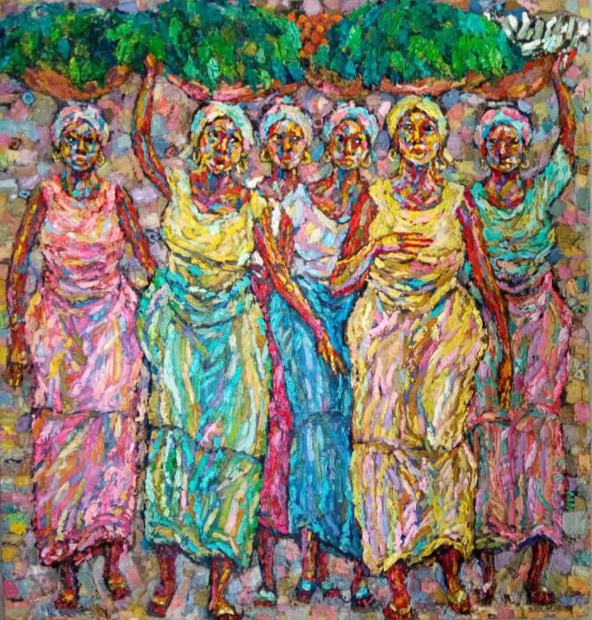 Vegetal Women 107 x 102cm