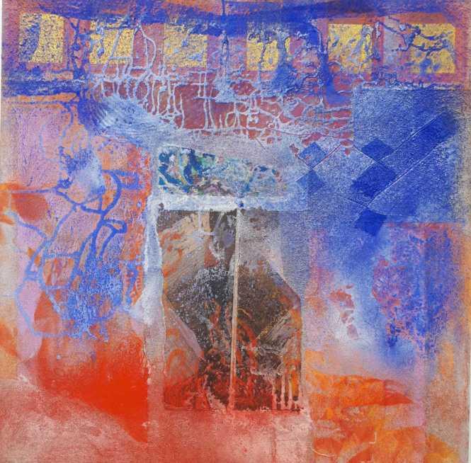 Autoportrait 80 x80